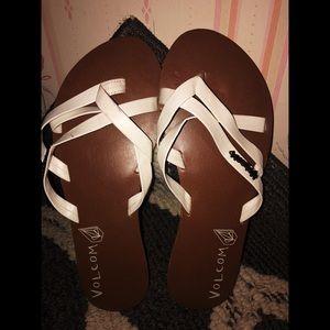 Volcom Sandals- size 6 *LIKE NEW*
